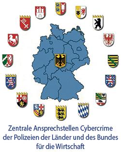 Link Zur Zentrale Ansprechstellen Cybercrime Fur Die Wirtschaft Der Lander Und Des Bundes
